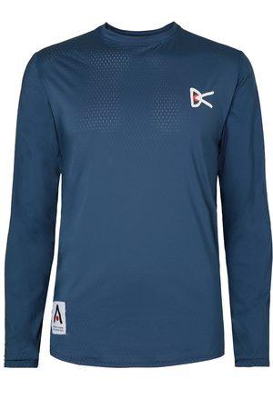 District Vision Men Tops - Air-wear Logo-print Stretch-mesh Top