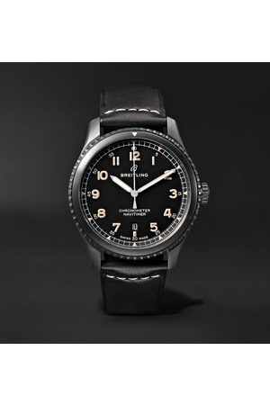 Breitling Navitimer 8 Automatic 41mm Steel and Leather Watch, Ref. No. M17314101B1X1