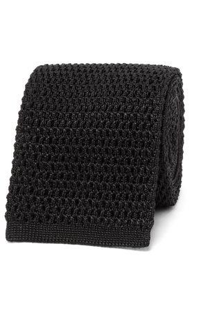 Tom Ford Men Ties - 7.5cm Knitted Silk Tie