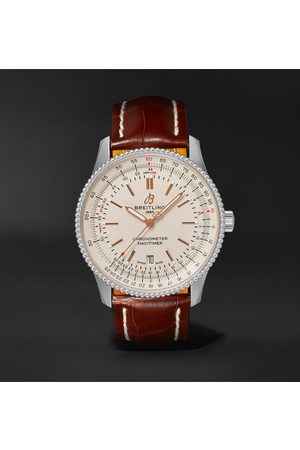 Breitling Navitimer 1 Automatic 41mm Stainless Steel and Alligator Watch, Ref. No. A17326211G1P2