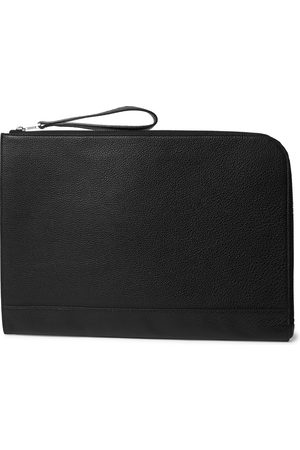 William & Son Men Purses & Wallets - Bruton Textured-leather Pouch