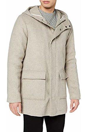 Selected Homme Men's Shhrolf Hood Wool Coat