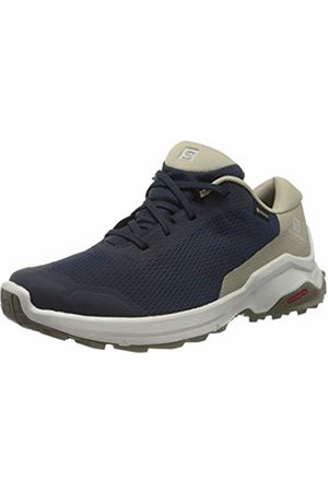 Salomon Men's Hiking Shoes, X REVEAL GTX, Colour: (Navy Blazer/Vintage Kaki/Bungee Cord)