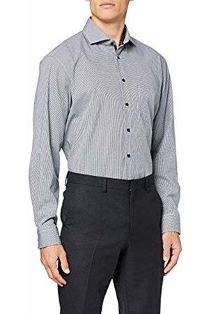 Seidensticker Men's Kariertes Hemd Mit Kent-Kragen Und Einem Hohen Tragekomfort - Comfort Fit - Langarm Formal Shirt