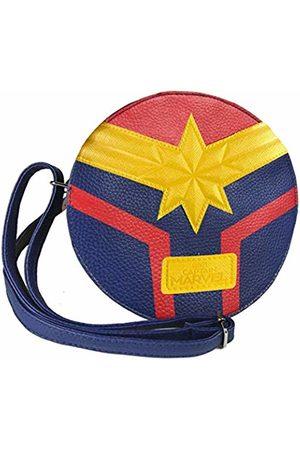 CERDA ARTESANIA Bolso Bandolera Captain Marvel Unisex Adults' Messenger Bag