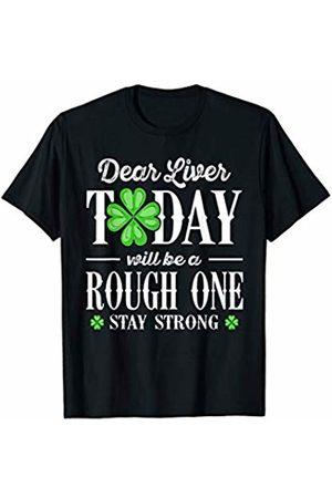 Wowsome! Dear Liver Irish St Patricks Day Funny Drinking Men Women T-Shirt