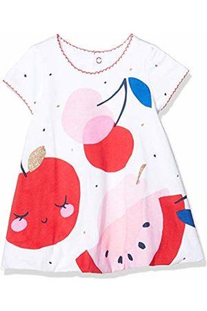 Catimini CQ30041 ROBE PANO, Dress, 0-3 months (Manufacturer size:1M)