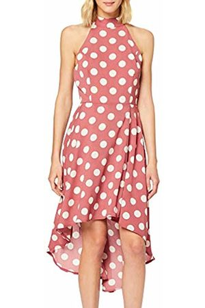 Mela Women's Polka Dot High Low Dress Casual