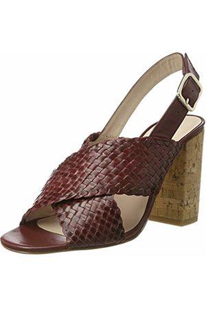 LK Bennett L.K. Bennett Mel, Women's Wedge Heels Sandals, (Damson)
