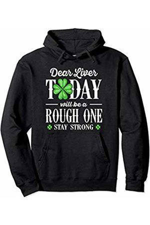 Wowsome! Dear Liver Irish St Patricks Day Funny Drinking Men Women Pullover Hoodie