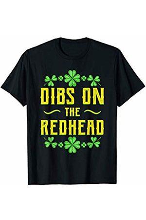 Wowsome! St Patricks Day Shirt Dibs on the Redhead Men Women T-Shirt