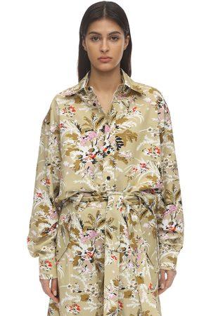 Colville Floral Print Cotton Shirt