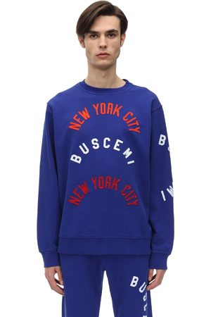 BUSCEMI Tackel Cotton Twill Sweatshirt