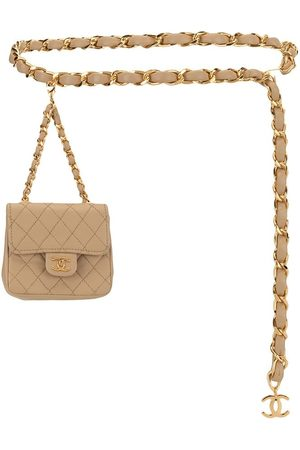 CHANEL 1990s mini quilted belt bag - Neutrals