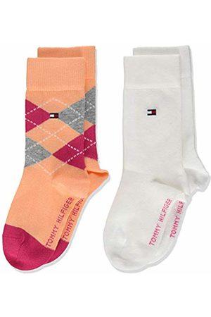 Tommy Hilfiger Girl's Th Kids Original Argyle Sock 2p Calf