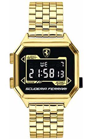 Scuderia Ferrari Men's Digital Quartz Watch with Stainless Steel Strap 0830705