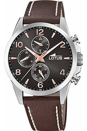 Lotus Mens Chronograph Quartz Watch with Leather Strap 18630/3