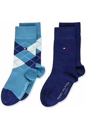 Tommy Hilfiger Boy's Th Kids Original Argyle Sock 2p Calf