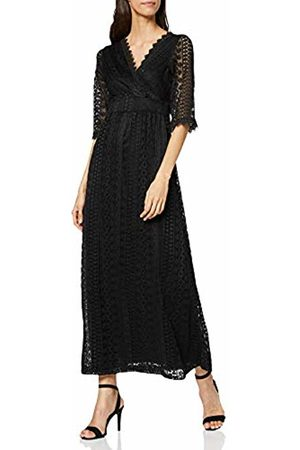 Mela Women's Wrap Front Lace Maxi Dress Casual