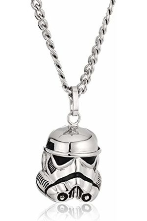 STAR WARS Jewelry Stromtrooper Stainless Steel 3D Men's Pendant Necklace