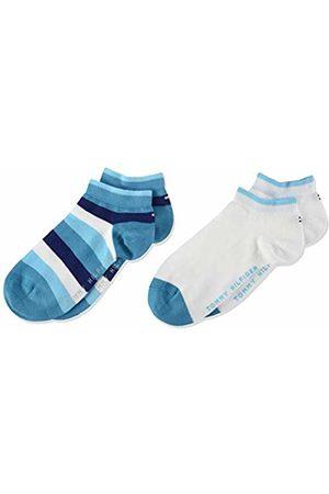 Tommy Hilfiger Boy's Th Kids Basic Stripe Quarter 2p Calf Socks