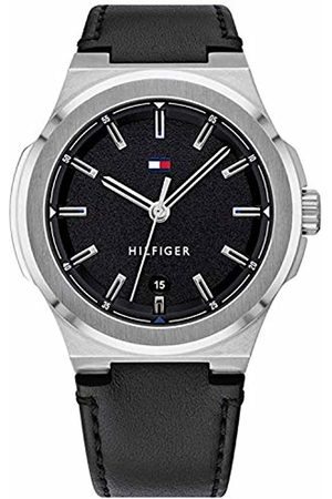 Tommy Hilfiger Men's Analogue Quartz Watch with Leather Strap 1791646