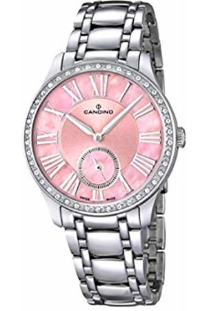 Candino Women's Quartz Watch with Baby Dial Analogue Display and Stainless Steel Bracelet C4595/2