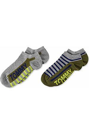 Tommy Hilfiger Boy's Th Kids Sneaker 2p Bold Stripe Ankle Socks