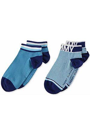 Tommy Hilfiger Boy's Th Kids Quarter 2p Fine Stripe Calf Socks