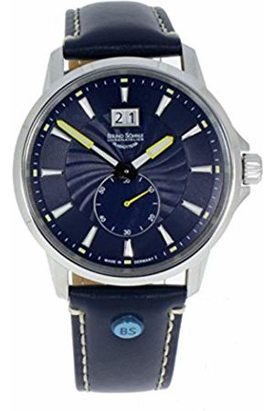 Bruno Söhnle Men's Analogue Quartz Watch with Leather Strap 17-13158-341