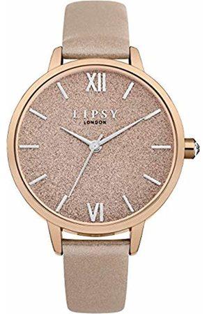 Lipsy London Womens Analogue Classic Quartz Watch with PU Strap LP614