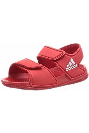 adidas Unisex Babies' Altaswim Slide Sandal, Scarlet/Footwear /Scarlet
