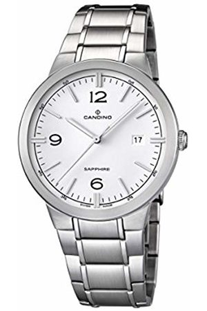 Candino Men's Quartz Watch with Dial Analogue Display and Stainless Steel Bracelet C4510/1