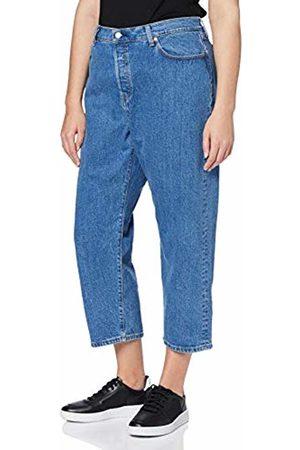 Levi's Women's Pl 501 Crop Straight Jeans