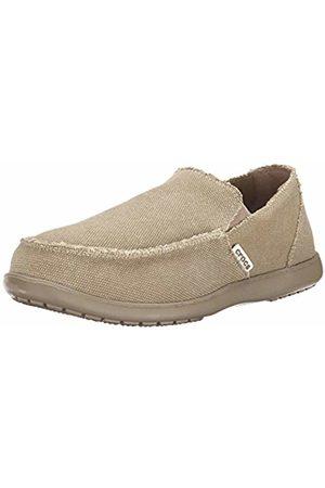 Crocs Men's Santa Cruz Loafers, (Khaki/Khaki)