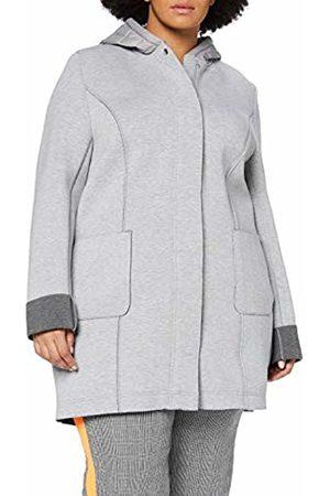 Ulla Popken Women's Scuba Mantel Mit Kapuze Jacket