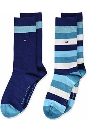 Tommy Hilfiger Boy's Th Kids Basic Stripe Sock 2p Calf