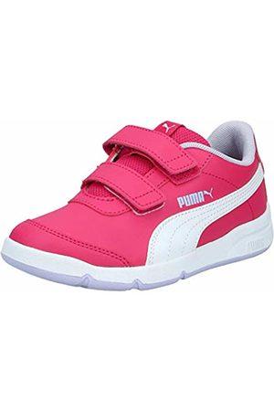 PUMA Unisex Kid's STEPFLEEX 2 SL VE V PS Trainers, (Bright Rose - Heather-Peony 15)