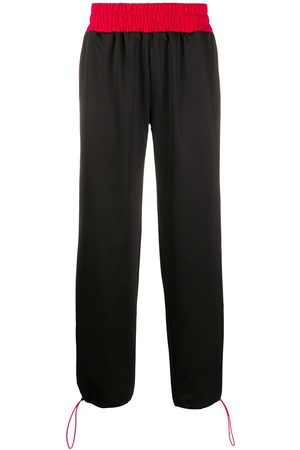 Gcds Wide leg elasticated waist track pants