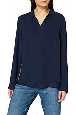 Cecil Women's 341814 Blouse, (Blau)