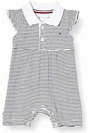 Tommy Hilfiger Baby Girl Stripe Shortall S/S Bodysuit