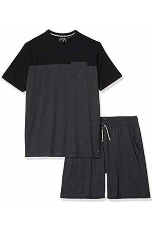 JP 1880 Men's Big & Tall Pyjama Set Anthracite-Melange X-Large 726613 11-XL