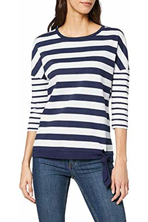 Cecil Women's 314236 Long Sleeve Top, Multicolour (Mehrfarbig)