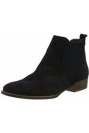Women's 1 1 25315 24 Leder Chelsea Boots, (Navy 805)