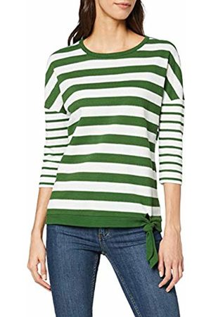 Cecil Women's 314236 Long Sleeve Top, Multicolour (Fresh Meadow 21236)