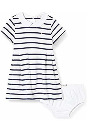 Tommy Hilfiger Baby Girl Rugby Stripe Dress S/S Blouse