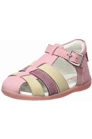 Kickers Baby Girls' Bigfly-2 Sandals, (Rose Tricolore 132)