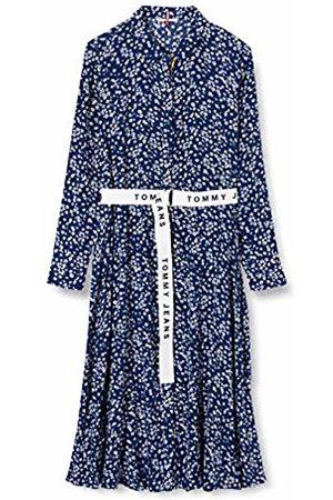 Tommy Hilfiger Women's TJW Print Mix Shirt Dress