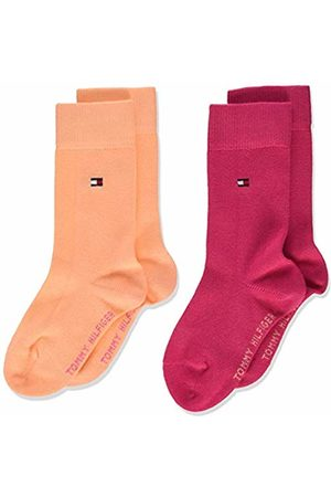 Tommy Hilfiger Girl's Children Sock Th Basic 2p Calf