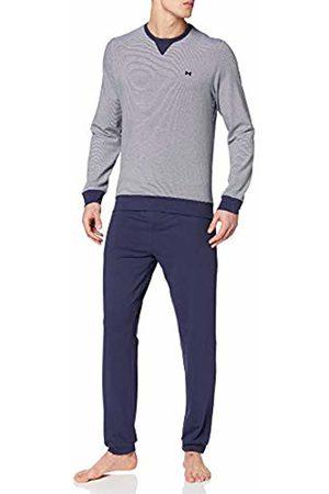 Hom Men's Tas Long Sleepwear Pajama Set